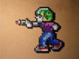 Commander Keen Perler by mecharichter