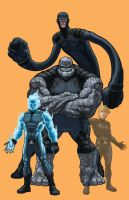 Project Rooftop: Fantastic Four by monstrous64