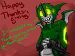 Happy Thanksgiving! by Dragonvoremors