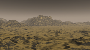 3D desert terrain by S7RAIGHT-EDGE