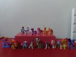 My MLP FIM blind bag mini figure collection by CAMIKOOPA