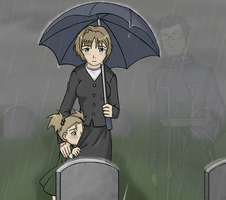 Umbrellas Do Not Stop Tears by Duelistabbeyryou