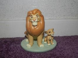 Lion King 'My Daddy Is King' Ornament by LittleRolox3