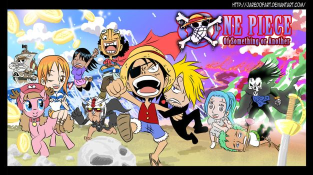 One Piece: Of Something Or Another Comic Promo by JaredofArt
