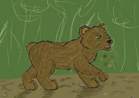 8. Grizzly Bear WIP by Spazzel