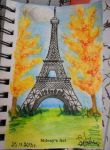 eiffel tower by Mdesy
