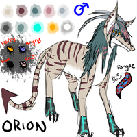 Orion by starbars