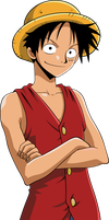 Monkey D. Luffy Vector by patricao