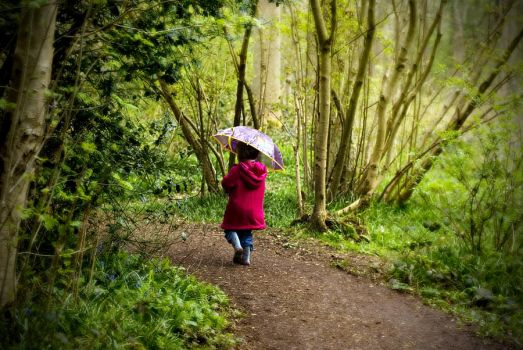 Littlest Red Riding Hood by rompus