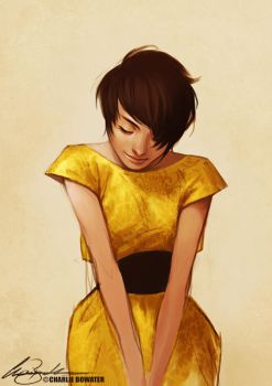 yellow by Charlie-Bowater