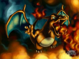 Charizard / Pokemon Art Academy by Prince-Stephen
