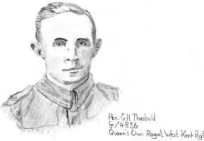 Private Theobald, 1915 by VassKholzovf