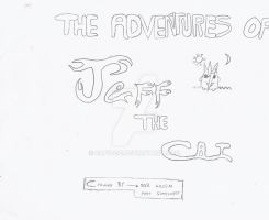 The Adventures of Jeff the Cat Title Card by Capioco