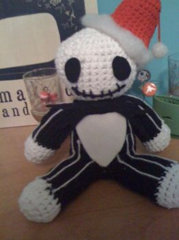 big jake skellington by superchibiting