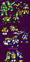 Dinoforce by InvaderToum
