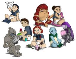 me1 rugrats by K-Laine