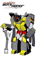 GRIMLOCK - ROBOT MODE by Bots-of-Honor