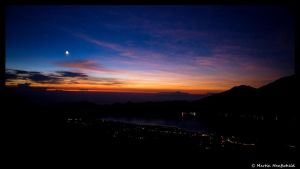 Sunrise at Mount Batur by Haufschild