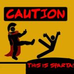 CAUTION: This is Sparta by The-Xorcyst