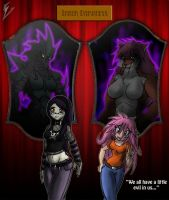 Halloween Festivities - In a Mirror, Darkly by Sephzero