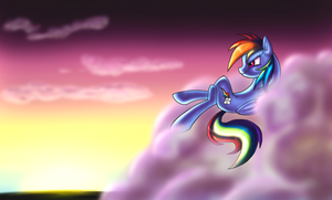 Watching time go by by ElectricHalo