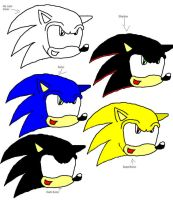 Sonic Drawing by SonAmyAlways