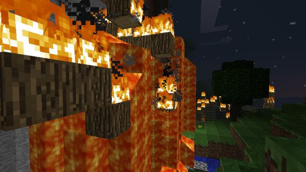 Minecraft Random Lava Flow by Jhumperdink