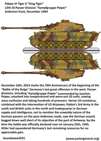 King Tiger Kampfgruppe Peiper 1944 by soundwave3591