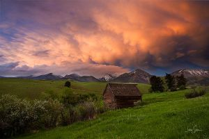 Bridger Barn by jessespeer