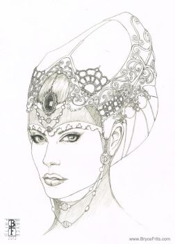 Fantasy Headdress 4 by BryceFrits