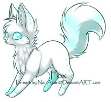 Artic Fox Adopt: CLOSED by Inner-Realm-Adopts