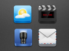 Mixed IOS icons by Icondesire