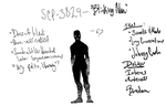 SCP 3829 - Blinking Man by Falafler