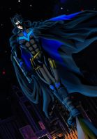 Dick Grayson: Batman 2.0 by Rai-daydreamer