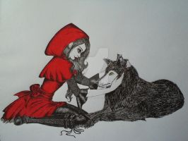 Little red riding hood by BrokenDoll92