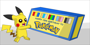 15 Years of Pokemon by UMSAuthorLava
