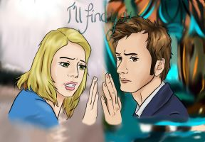 The Doctor and Rose Tyler by Paakil