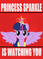 Princess Sparkle Propaganda by R-C-H