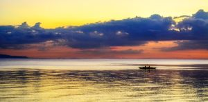 Grainy Sunset by lim12344321