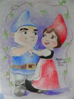 Gnomeo and Juliet by vegetarian-artist