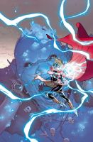 Thor #2 cover by RDauterman