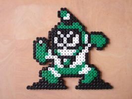 Perler Bubbleman by NES--still-the-best