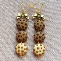 Cookie earrings by amalie2