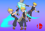 Cloud Strife FFVII by donicx1