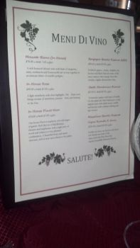 Wine Menu for my final group project. by veluptous