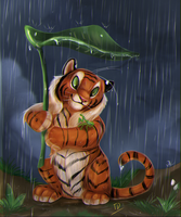 Rain Drop by TigresaDaina