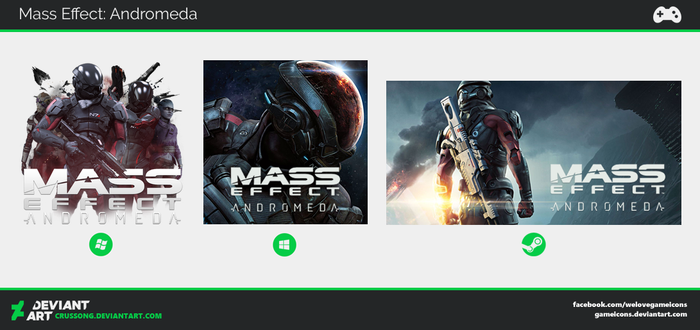Mass Effect: Andromeda - Icon by Crussong