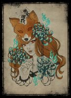 Fox spirit by BelialMadHatter