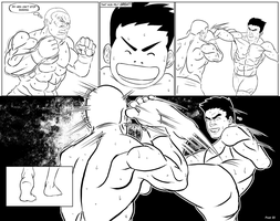The One Arm Fighter - Page 19-20 by GenghisKwan