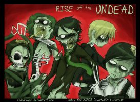 MCR contest - ZOMBIES by Chocoreaper
